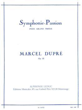 Symphonie-Passion pour Grand Orgue - Op. 23 (HL-48180249)