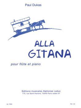 Alla Gitana (for Flute and Piano) (HL-48180271)