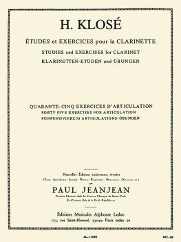 Etudes et Exercises pour la Clarinette: [Studies and Exercies for Clar (HL-48180272)