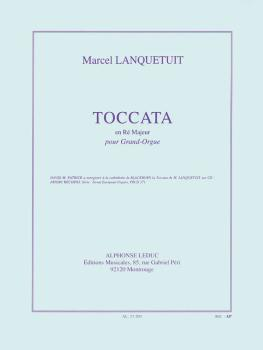 Toccata en Re Majeur pour Grand-Orgue (for Organ) (HL-48180296)