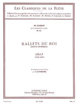 Gavotte en Rondeau - Classiques No. 33 (for Flute and Piano) (HL-48180313)