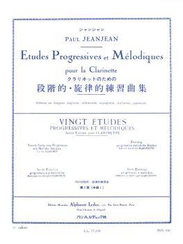Vingt Etudes Progressives et Melodiques - Volume 1 (for Clarinet) (HL-48180317)