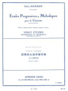 Vingt Etudes Progressives et Mélodiques - Volume 3 (for Clarinet) (HL-48180347)