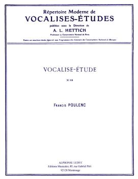 Vocalise-Etude pour Voix Elevees (for High Voice and Piano) (HL-48180349)