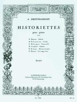 Historiettes pour Piano: [Short Stories for Piano] (HL-48180373)