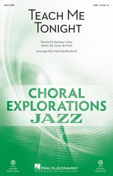 Teach Me Tonight: Choral Explorations Jazz Series (HL-00214289)