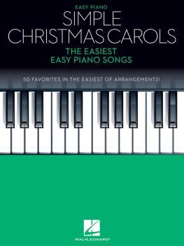 Simple Christmas Carols: The Easiest Easy Piano Songs (HL-00278263)