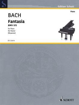 Fantasia: BWV 572 G Major Piano (HL-49046004)