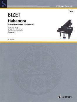 Habañera (from the Opera 'Carmen' Piano 4 Hand) (HL-49046005)