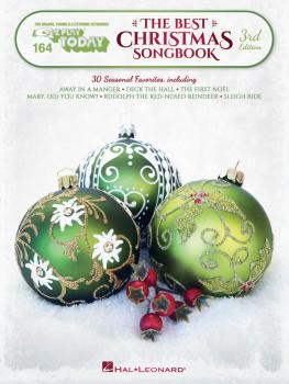 The Best Christmas Songbook - 3rd Edition: E-Z Play Today Volume 164 (HL-00277916)