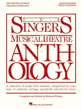 The Singer's Musical Theatre Anthology - Teen's Edition: Baritone/Bass (HL-00230046)