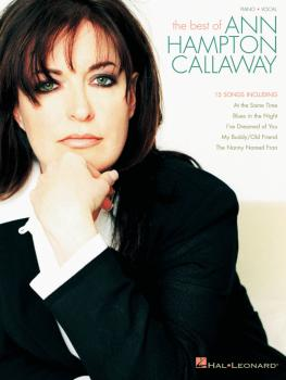 Best of Ann Hampton Callaway (HL-00306620)