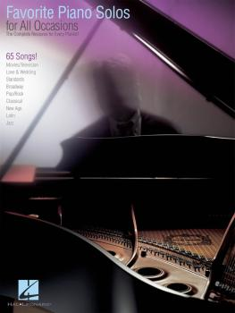Favorite Piano Solos for All Occasions: The Complete Resource for Ever (HL-00311904)