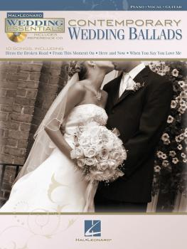 Contemporary Wedding Ballads: Wedding Essentials Series (HL-00311942)