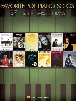 Favorite Pop Piano Solos (HL-00312523)