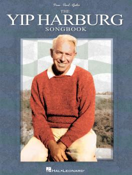 The Yip Harburg Songbook - 2nd Edition (HL-00313462)