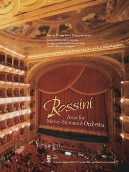 Rossini - Opera Arias for Mezzo-Soprano and Orchestra: Music Minus One (HL-00400092)