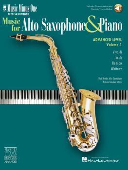 Advanced Alto Sax Solos - Vol. 1 (HL-00400602)