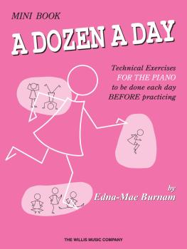 A Dozen a Day Mini Book (HL-00404073)