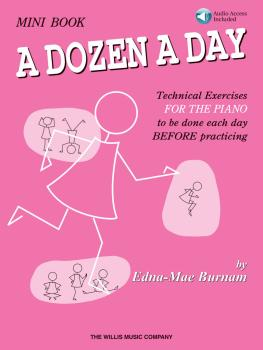 A Dozen a Day Mini Book - Book/Audio (HL-00406472)