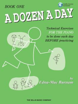 A Dozen a Day Book 1 - Book/Audio (HL-00406481)