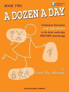 A Dozen a Day Book 2 - Book/Audio (HL-00406485)