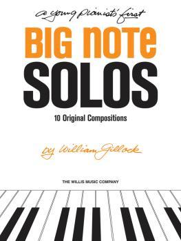 A Young Pianist's First Big Note Solos: Early to Mid-Elementary Level (HL-00416229)