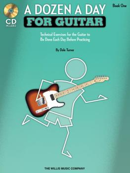 A Dozen a Day for Guitar - Book 1: Technical Exercises for the Guitar  (HL-00416758)
