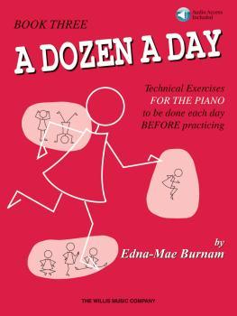 A Dozen a Day Book 3 - Book/Audio (HL-00416760)
