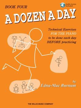 A Dozen a Day Book 4 - Book/CD Pack (HL-00416761)