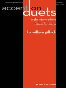Accent on Duets (Mid to Later Intermediate Level/1 Piano, 4 Hands) (HL-00416804)