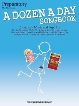 A Dozen a Day Songbook - Preparatory Book (Mid-Elementary Level) (HL-00416859)