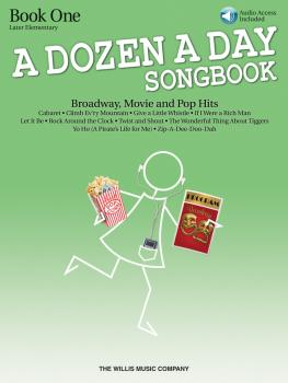 A Dozen a Day Songbook - Book 1: Later Elementary to Early Intermediat (HL-00416863)