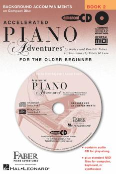 Accelerated Piano Adventures for the Older Beginner: Lesson Book 2 Acc (HL-00420091)