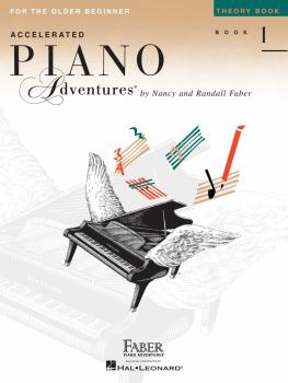 Accelerated Piano Adventures for the Older Beginner (Theory Book 1) (HL-00420228)