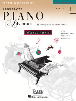Accelerated Piano Adventures for the Older Beginner (Christmas Book 1) (HL-00420230)