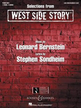 Selections from West Side Story (One Piano, Four Hands) (HL-00450111)