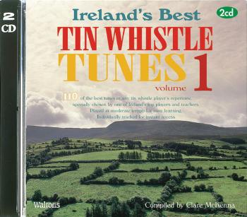 110 Ireland's Best Tin Whistle Tunes - Volume 1 (with Guitar Chords) (HL-00634198)