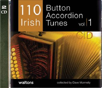 110 Irish Button Accordion Tunes (with Guitar Chords) (HL-00634201)