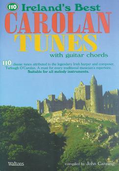 110 Ireland's Best Carolan Tunes (with Guitar Chords) (HL-00634228)