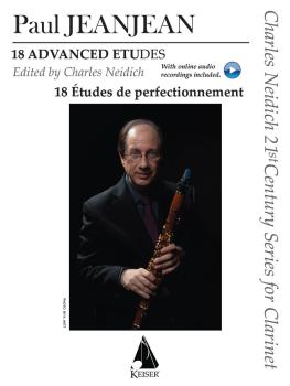 18 Advanced Etudes: Charles Neidich 21st Century Series for Clarinet W (HL-00042385)