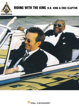 B.B. King & Eric Clapton - Riding with the King (HL-00690444)