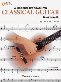 A Modern Approach to Classical Guitar: Book 3 - Book/CD Pack (HL-00695117)