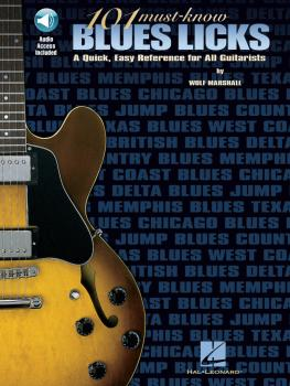 101 Must-Know Blues Licks (HL-00695318)