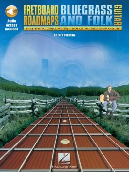 Fretboard Roadmaps - Bluegrass and Folk Guitar: The Essential Guitar P (HL-00695355)