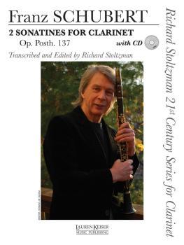 2 Sonatines for Clarinet, Op. post. 137: Richard Stoltzman 21st Centur (HL-00042593)