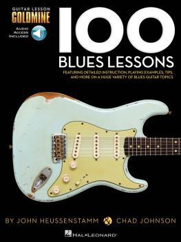 100 Blues Lessons: Guitar Lesson Goldmine Series (HL-00696452)