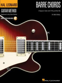 Barre Chords: A Beginner's Guide with 18 Pop and Rock Hits Hal Leonard (HL-00697406)