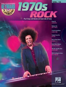 1970s Rock: Keyboard Play-Along Volume 16 (HL-00700933)