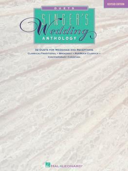Singer's Wedding Anthology - Revised Edition (32 Duets) (HL-00740005)